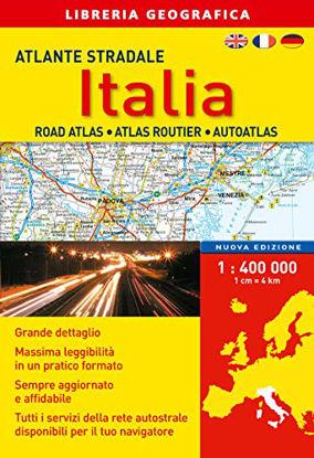 Immagine di ATLANTE STRADALE ITALIA 1:400.000