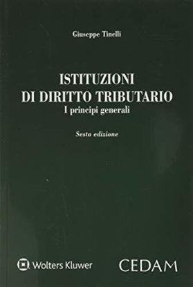 Immagine di ISTITUZIONI DI DIRITTO TRIBUTARIO. I PRINCIPI GENERALI