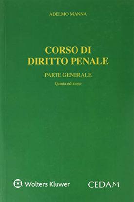 Immagine di CORSO DI DIRITTO PENALE. PARTE GENERALE