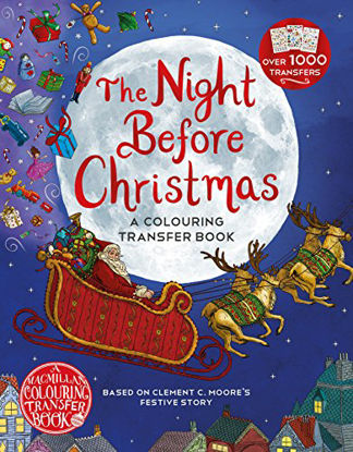 Immagine di THE NIGHT BEFORE CHRISTMAS: A COLOURING TRANSFER BOOK