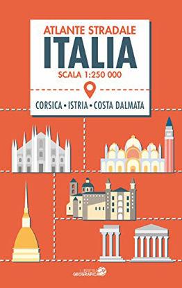 Immagine di ATLANTE STRADALE ITALIA 1:250.000. CON CORSICA, ISTRIA E COSTA DALMATA