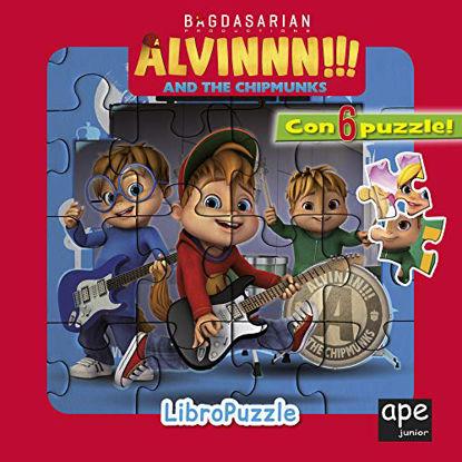 Immagine di ALVINNN!!! AND THE CHIPMUNKS. LIBRO PUZZLE. EDIZ. A COLORI