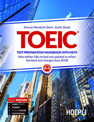 Immagine di TOEIC. TEST PREPARATION HANDBOOK WITH KEYS