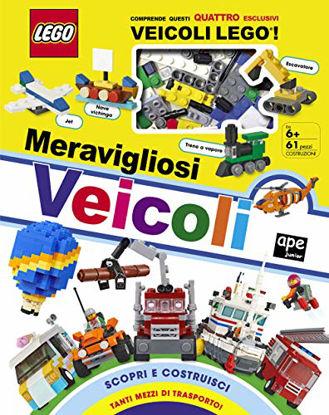 Immagine di MERAVIGLIOSI VEICOLI. LEGO. CON GADGET