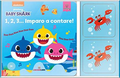 Immagine di 1,2,3 IMPARO A CONTARE. BABY SHARK
