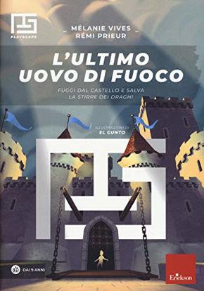 Immagine di ULTIMO UOVO DI FUOCO. ESCAPE BOOK (L`)