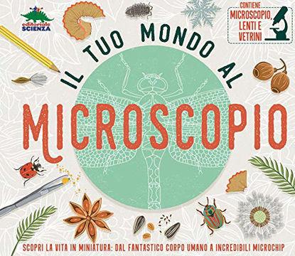 Immagine di TUO MONDO AL MICROSCOPIO. CON GADGET (IL)