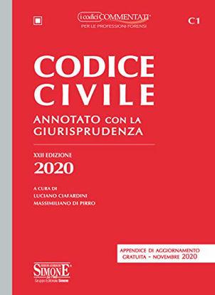 Immagine di CODICE CIVILE ANNOTATO 2020