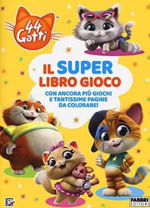 Immagine di SUPER LIBRO GIOCO. 44 GATTI