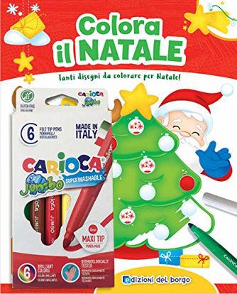 Immagine di COLORA IL NATALE. CON 6 PENNARELLI