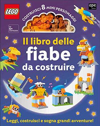 Immagine di LIBRO DELLE FIABE DA COSTRUIRE. LEGO. CON GADGET (IL)