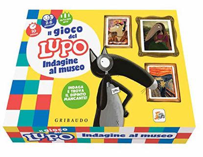 Immagine di GIOCO DEL LUPO. INDAGINE AL MUSEO. AMICO LUPO. CON GADGET. CON 12 CARTE