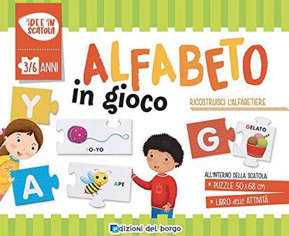 Immagine di ALFABETO IN GIOCO. CON PUZZLE (L`)