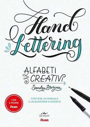 Immagine di ALFABETI CREATIVI. HAND LETTERING. CON 2 GADGET. CON TACCUINO