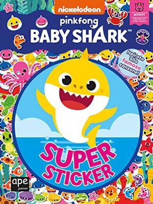 Immagine di BABY SHARK. SUPER STICKER. EDIZ. A COLORI