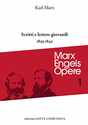 Immagine di OPERE 1 - SCRITTI E LETTERE GIOVANILI (1835-1843)