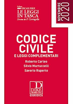 Immagine di CODICE CIVILE E LEGGI COMPLEMENTARI 2020 EDIZ. POCKET