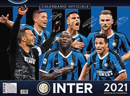 Immagine di INTER. CALENDARIO ORIZZONTALE 2021