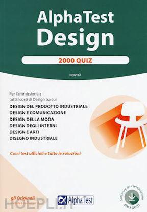 Immagine di ALPHA TEST. DESIGN. 2000 QUIZ