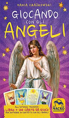 Immagine di GIOCANDO CON GLI ANGELI. CON 104 CARTE