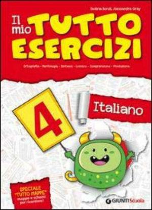 Immagine di MIO TUTTO ESERCIZI ITALIANO. - VOLUME 4