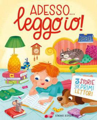 Immagine di ADESSO... LEGGO IO! 3 STORIE PER PRIMI LETTORI. EDIZ. ILLUSTRATA