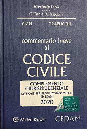 Immagine di COMMENTARIO BREVE AL CODICE CIVILE. EDIZ. PER ESAMI E CONCORSI 2020