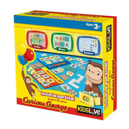 Immagine di CURIOUS GEORGE LOTTO MEMO DOMINO
