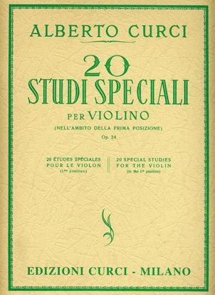 Immagine di 20 STUDI SPECIALI PER VIOLINO (NELL`AMBITO DELLA PRIMA POSIZIONE) OP. 24