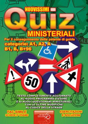 Immagine di NUOVISSIMI QUIZ MINISTERIALI PER IL CONSEGUIMENTO DELLA PATENTE DI GUIDA CATEGORIE: A1, A2, A, B...