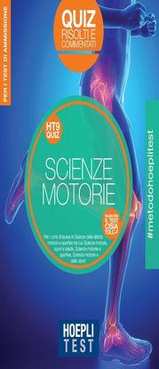 Immagine di HOEPLI TEST. SCIENZE MOTORIE. QUIZ RISOLTI E COMMENTATI. PER I TEST DI AMMISSIONE