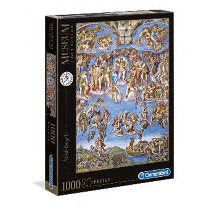 Immagine di PUZZLE 1000 pezzi MICHELANGELO GIUDIZIO UNIVERSALE