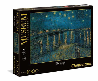 Immagine di PUZZLE 1000 PEZZI - VAN GOGH - STARRY NIGHT ON THE RHONE - LA NOTTE STELLATA SUL RENO