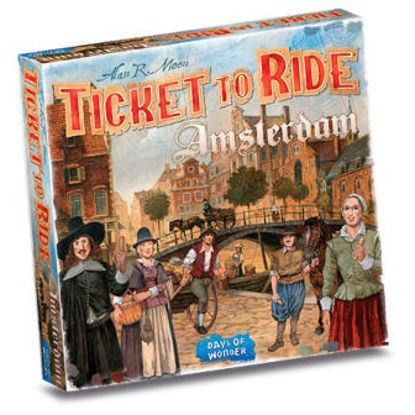 Immagine di TICKET TO RIDE AMSTERDAM