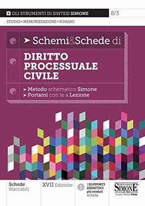 Immagine di SCHEMI & SCHEDE DI DIRITTO PROCESSUALE CIVILE 2021