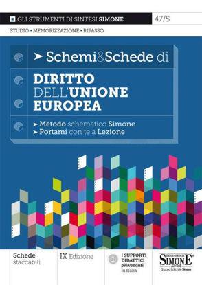 Immagine di SCHEMI & SCHEDE DI DIRITTO DELL`UNIONE EUROPEA