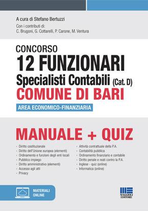 Immagine di CONCORSO 12 FUNZIONARI SPECIALISTI CONTABILI (CAT. D) COMUNE DI BARI. AREA ECONOMICO-FINANZIARIA