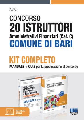 Immagine di CONCORSO 20 ISTRUTTORI AMMINISTRATIVI FINANZIARI (CAT. C) COMUNE DI BARI. KIT COMPLETO