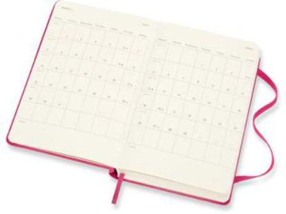 Immagine di 12 MONTHS, DAILY. POCKET, HARD COVER, BOUGAINVILLEA PINK
