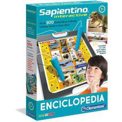 Immagine di SAPIENTINO INTERACTIVE ENCICLOPEDIA CON PENNA ELETTRONICA