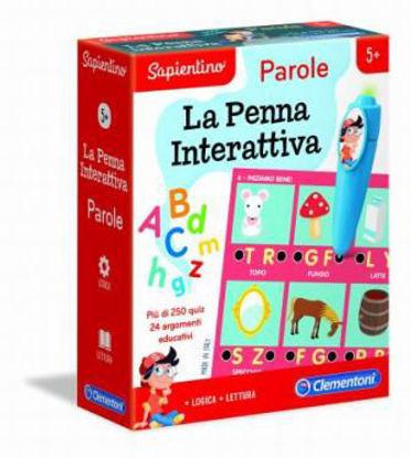 Immagine di SAPIENTINO PENNA INTERATTIVA - PAROLE