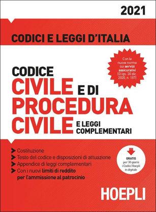 Immagine di CODICE CIVILE E DI PROCEDURA CIVILE E LEGGI COMPLEMENTARI 2021