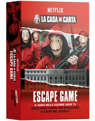 Immagine di CASA DI CARTA - ESCAPE GAME - GIOCO IN SCATOLA