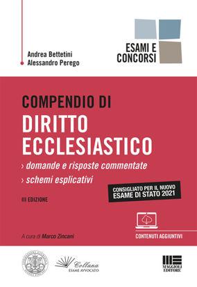 Immagine di COMPENDIO DI DIRITTO ECCLESIASTICO.