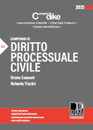 Immagine di COMPENDIO DI DIRITTO PROCESSUALE CIVILE. 2021