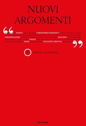 Immagine di NUOVI ARGOMENTI (2021). VOL. 2: MAGGIO-AGOSTO