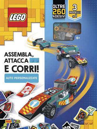 Immagine di LEGO. AUTO PERSONALIZZATE: ASSEMBLA, ATTACCA E CORRI! EDIZ. A COLORI