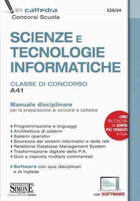 Immagine di SCIENZE E TECNOLOGIE INFORMATICHE CLASSE CONCORSO A41