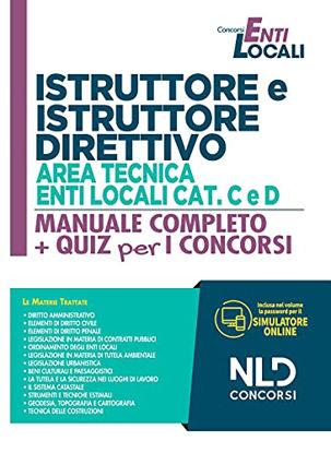 Immagine di ISTRUTTORE E ISTRUTTORE DIRETTIVO. AREA TECNICA ENTI LOC CAT. C E D