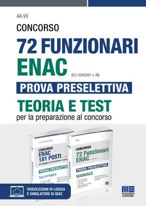 Immagine di CONCORSO 72 FUNZIONARI ENAC. PROVA PRESELETTIVA. TEORIA E TEST PER LA PREPARAZIONE AL CONCORSO